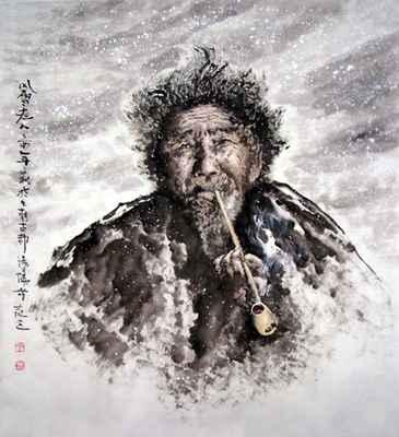 """【荷塘""""冬之恋曲""""征文】时光·飞雪(散文)"""